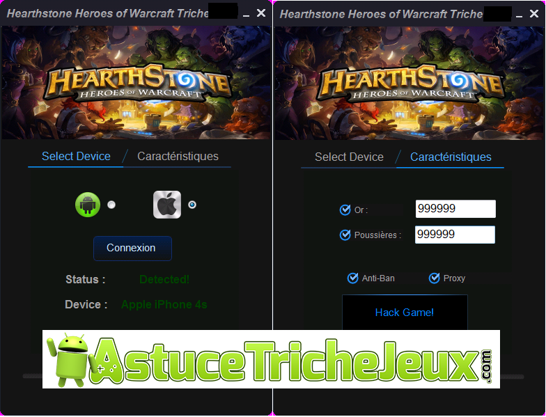 HearthStone Heroes of Warcraft français,HearthStone Heroes of Warcraft tricher,HearthStone Heroes of Warcraft code de triche,HearthStone Heroes of Warcraft astuce