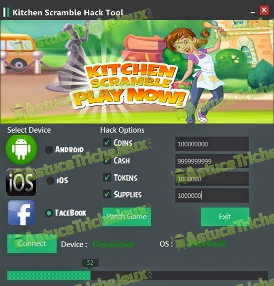 Kitchen scramble triche astuce pirater - Jeux de cuisine kitchen scramble ...