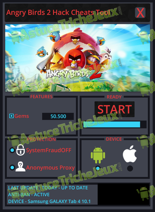 Angry birds 2 triche astuce pirater - Telecharger angry birds gratuit ...